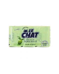 Le Chat Barsoap Huile D'Olive 6X100G