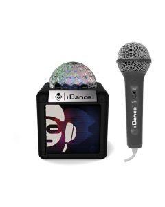 Idance Cube Sing 100 Bk Portable Bluetooth Speaker + Mic