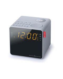 Muse M 187 Clg Cube Clock Radio Light Grey Finish