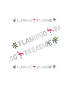 Party Display Xl Flamingo Paradise Letter Banner Flamingo Paradise 15X180Cm