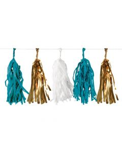 Party Display Xl Pineapple Vibes Tassel Garland Pineapple Vibes