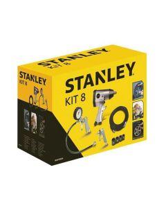 Stanley - Kit Met Pneumatische Accessoires - 8-Delig Eob