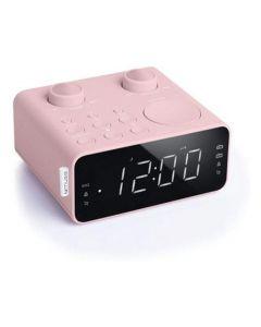 Muse M 17 Cpk Clock Radio Pink Finish