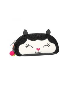 Topmodel Beauty Bag Zwart Alpaca