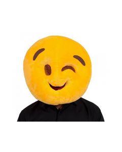 Masker Emoji Knipoog (type 2)