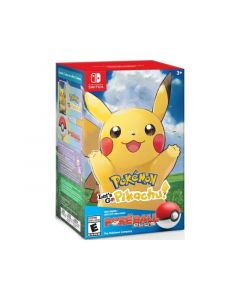 Nintendo Switch Pokemon - Lets Go Pikachu + Pokeball Plus