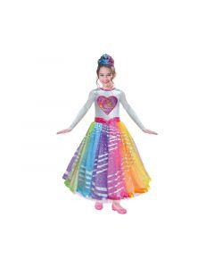 Barbie Rainbow Magic Deluxe Costume 5/7 Yrs