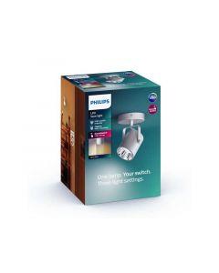 Philips Byre Single Spot Silver 1X4.3W 24V