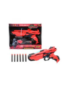 Tack Pro Shooter 3 With 6 Darts And Light 29Cm