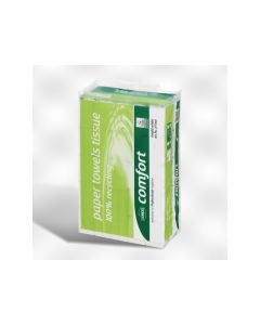 Handdoek Ecolabel W-Vouw 2Lg 20,6X32Cm Wit 25X120V