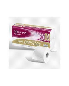 Toiletpapierrol 4Lg 9,5X13Cm Cellul.Wit 150V 8Rl