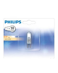 Philips Lamp Halo Caps 7W G4 12V Cl 1Bc/10