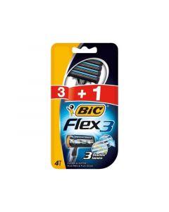 Bic Scheermesjes 3St + 1St Flex 3 Closer And Softer