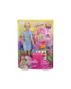 Barbie Travel Doll & Accessoires