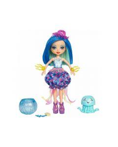 Enchantimals Feature Water Doll + Animal Jellyfish