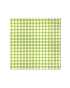 Paper Design Servetten 33X33Cm 20St. New Vichy Green