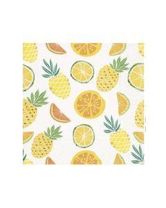 Paper Design Servetten 33X33Cm 20St. Fruity