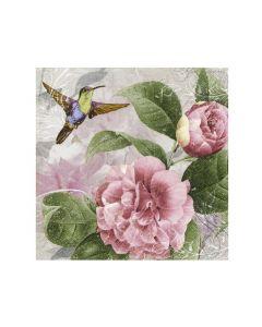 Paper Design Servetten 33X33Cm 20St. Hummingbird Dance