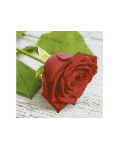Paper Design Servetten 33X33Cm 20St. Lovely Rose
