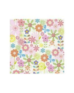 Paper Design Servetten 33X33Cm 20St. Simple Flowers