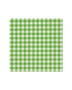Paper Design Servetten 25X25Cm 20St. New Vichy Green