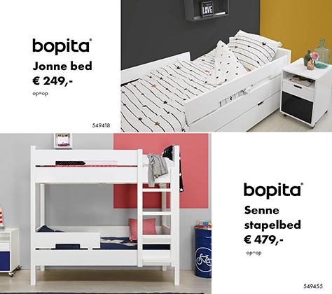 Bopita Seppe stapelbed & Jonne Bed - PROMO