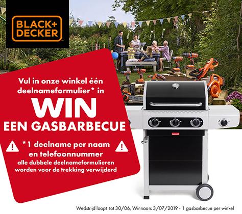 Black & Decker - Win een Gasbarbecue