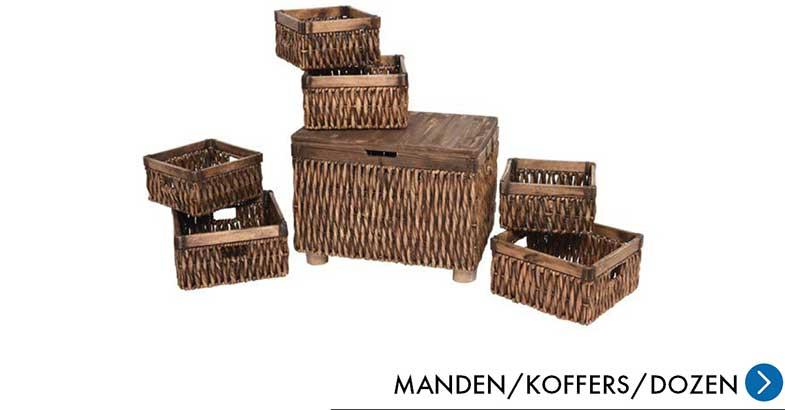 Meubelen - Manden/Koffers/Dozen