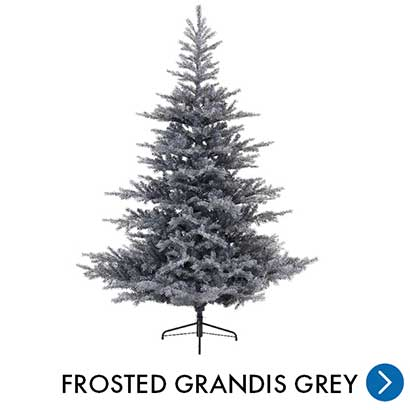 Kerst - Frosted Grandis Grey