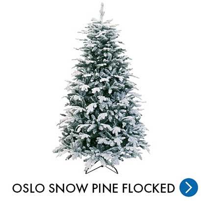 Kerst - Oslo Snow Pine Flocked