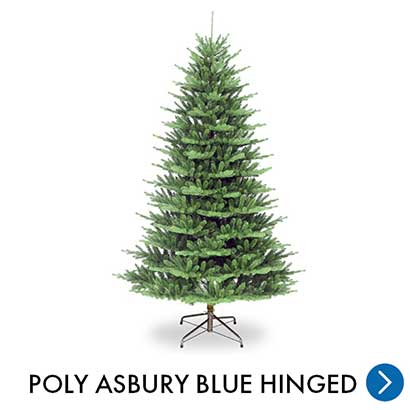 Kerst - Poly Asbury Blue Hinged