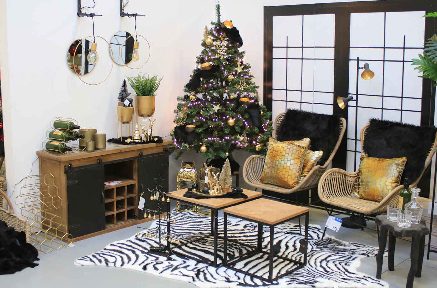 Kerst - Black & Gold