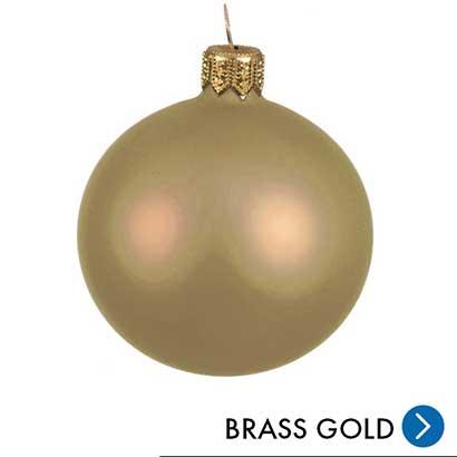 Kerst - Brass Gold