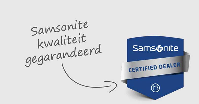 Erkend Samsonite Service Center