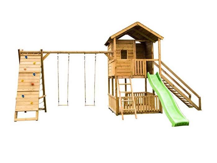 Buitenspeelgoed - Schommels & Speelhuizen